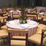 Salao Nobre EOC Sede Campestre com cadeiras almofadadas