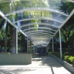 Tunel com cobertura cristal